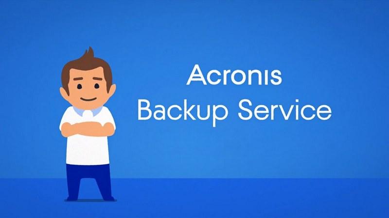 Acronis Backup Service info
