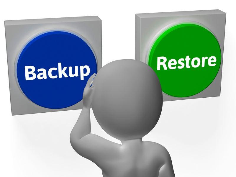 Backup date vs. Restore