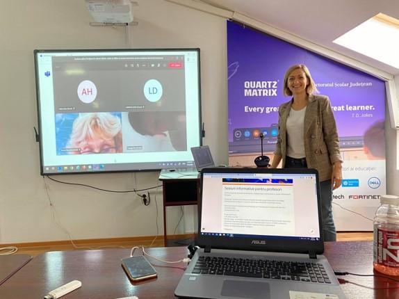 Centrul de formare pentru educație digitală de la Iași